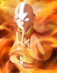 Avatar Aang by aagito