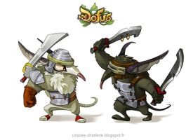 Dofus rats by Catell-Ruz