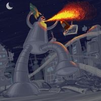 FUTURAMA:The Great Bender by zew00r
