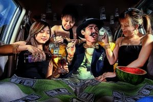 WEALTH IS A STATE OF MIND by SAMLIM