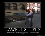 Lawful Stupid by Kersey475