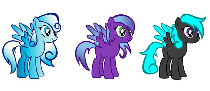 MLP Adoptables by AmayaxSin