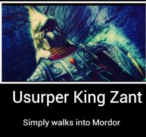 Zant usurper king by Chaser1992