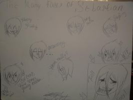 The Many Faces of Sebastian by Linked-Memories-21