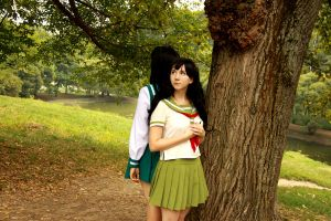 Kagome anime-manga version by toki-o-kakeru-kagome