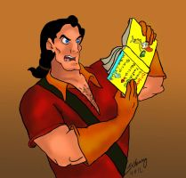 Gaston Hates Books by Zchanning