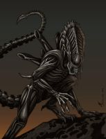 Predalien by Tina Leyk by SageHazzard
