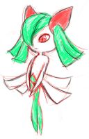 Kirlia by slithercat