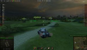 World of Tanks 'falling star in the sky at ...' by Cippman