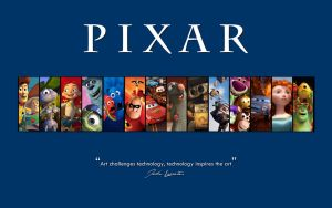 Pixar Films (1995 - 2013) Wallpaper by DarthVibbert