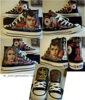 Emmett and Rosalie on Converse by alcat2021