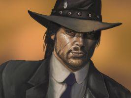 RED DEAD JOHN MARSTON by rocketraygun