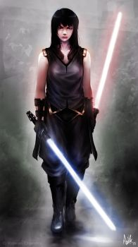 Dark Jedi by MeganeRid