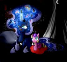 This night I'll tell you a bedtime story... by Alice4444DM