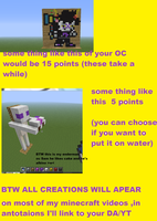 Minecraft commsions?!? by sams-adopts