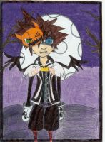 -KH- Halloween Town Sora by Heroes-Of-Light