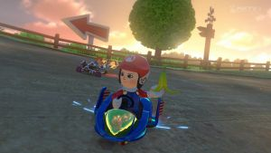 Mario Kart 8 - Razor and Saku by RazorVolare