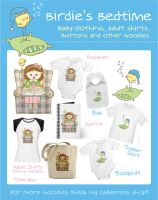 Birdie's Bedtime Goodies by arwenita