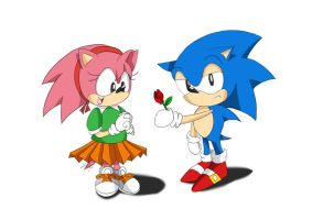 Amy's Lucky Day by Lucky-Sonic-77-d