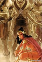 Dejah Thoris 25 Cover Colors by FabianoNeves