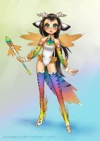 Magical Girl Chazore by sererena