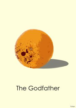 The Godfather Minimalist Poster by Tchav