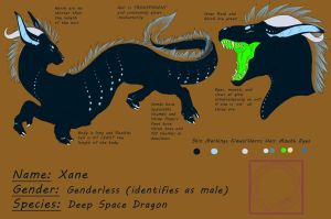 Xane - Reference Sheet Commission by Alcina24