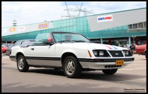 1983 Ford  Mustang Convertible by compaan-art