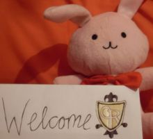 Ouran Welcome Bunny by HostClub