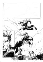Warbringer: page 1, work in progress by 9thRealm