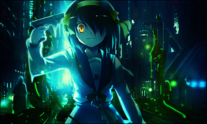 Break all of Reality - Haruhi Tag by TheIzaya