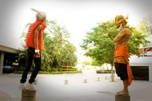 King Kazma vs Love Machine by DotCosplays