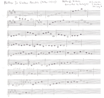 16 Melodies Sheet Music by turtwig163