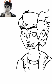Cronus charicature by vocloidlover