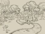 Applebloom at the Everfree by Hobbes-Maxwell