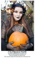 Halloween 2014 SPECIAL Goth Girl Stock 001 by MADmoiselleMeliStock