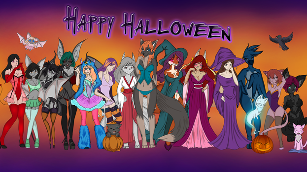 Luxa's Halloween Special 2015 by Luxianne