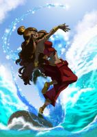 Katara Water Bending by fire-tisane