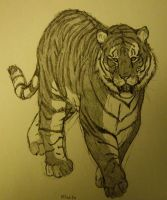 Tiger II by charcoal-almighty