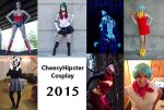 2015 Cosplay Lineup by CheesyHipster