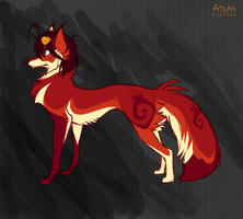Fox Atlas by VintageIceCream