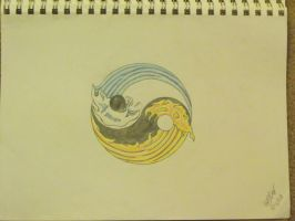 My Tattoo Yin Yang by lochness2012