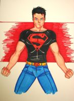 superboy sketch by JamieFayX