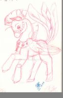 Shanouptel Baby Sketch by Exhaltorio
