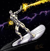 Silver Surfer 01 by battlereaper