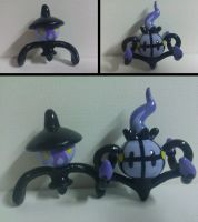 Lampent and Chandelure by Sara121089