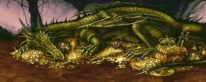 dragons lair by paler123