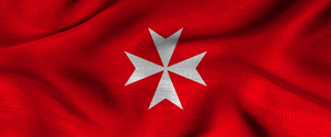 Knights of Malta Standard by thelilpallywhocould