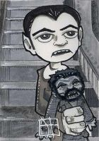 The Munsters - Eddie and Woof Woof by 10th-letter