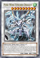 Pure Wing Synchro Dragon by Lexxiss666
